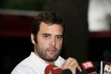 Land stir Rahul criticises UP govt