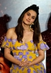 Taapsee Pannu during the trailer launch of her upcoming film    Game Over