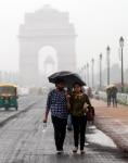 Heavy Rain in New Delhi