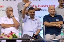 AAP Meeting in New Delhi