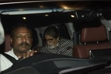 Mumbai  Actor Amitabh Bachchan at the party of Kaun Banega Crorepati season 10 in Mumbai on Nov 20  2018  Photo  IANS