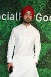 Mumbai  Actor Diljit Dosanjh at Facebooks #socialforgood event in Mumbai on Nov 27  2018  Photo  IANS