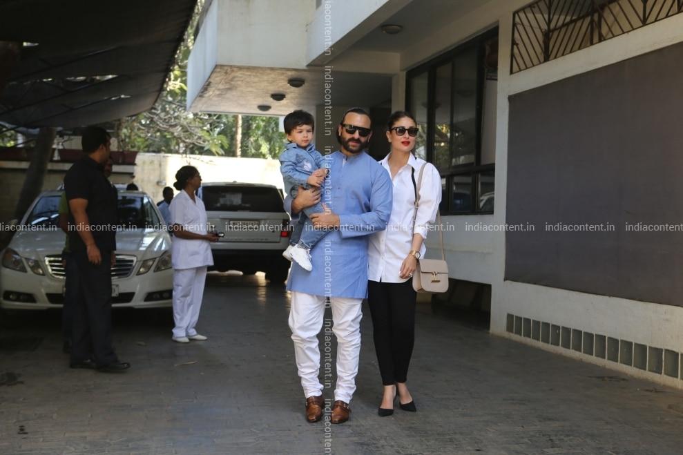Buy Mumbai Actor Saif Ali Khan with wife Kareena Kapoor ... Saif Ali Khan Wife Details