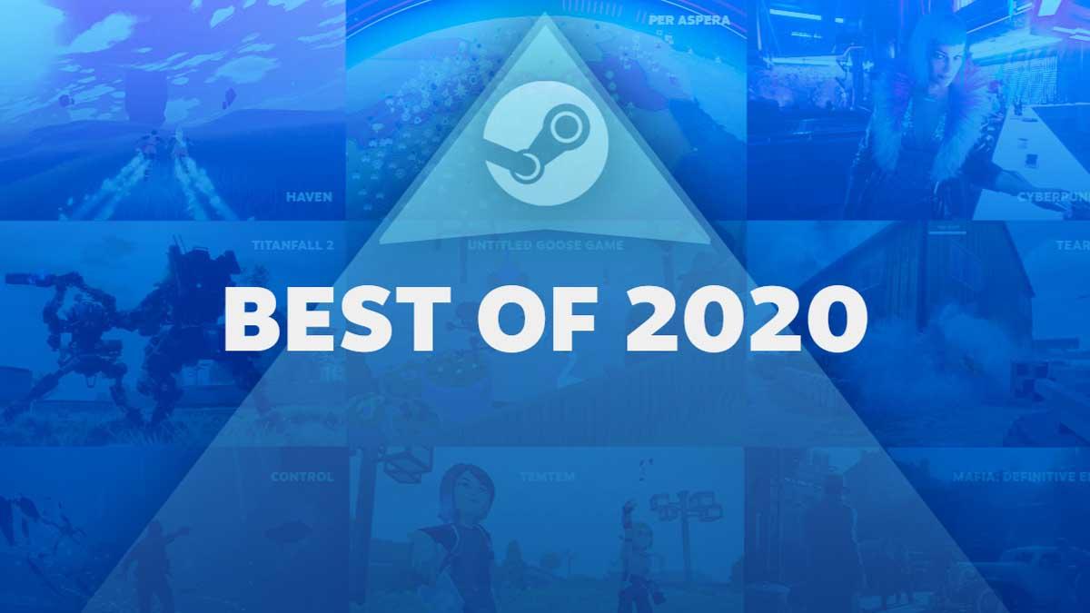 Steam Best of 2020 video games