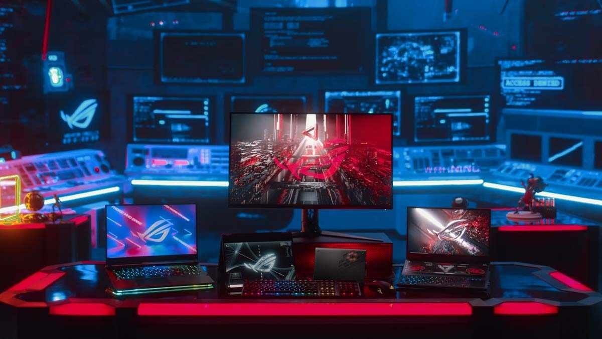 Asus ROG keynote address announcements at CES 2021