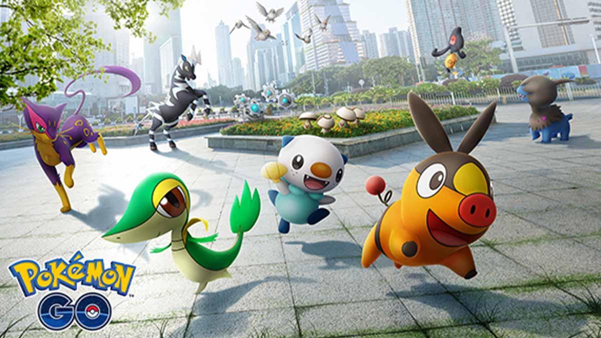 Pokemon Go Unova celebration event details