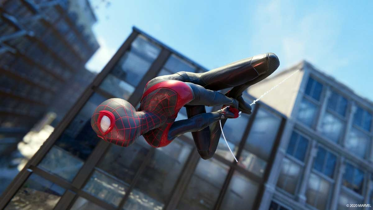Sony PlayStation favorite in-game screenshots Spider-Man Miles Morales