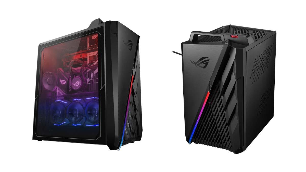 Asus ROG Strix GA35 and Strix GT35 gaming desktops