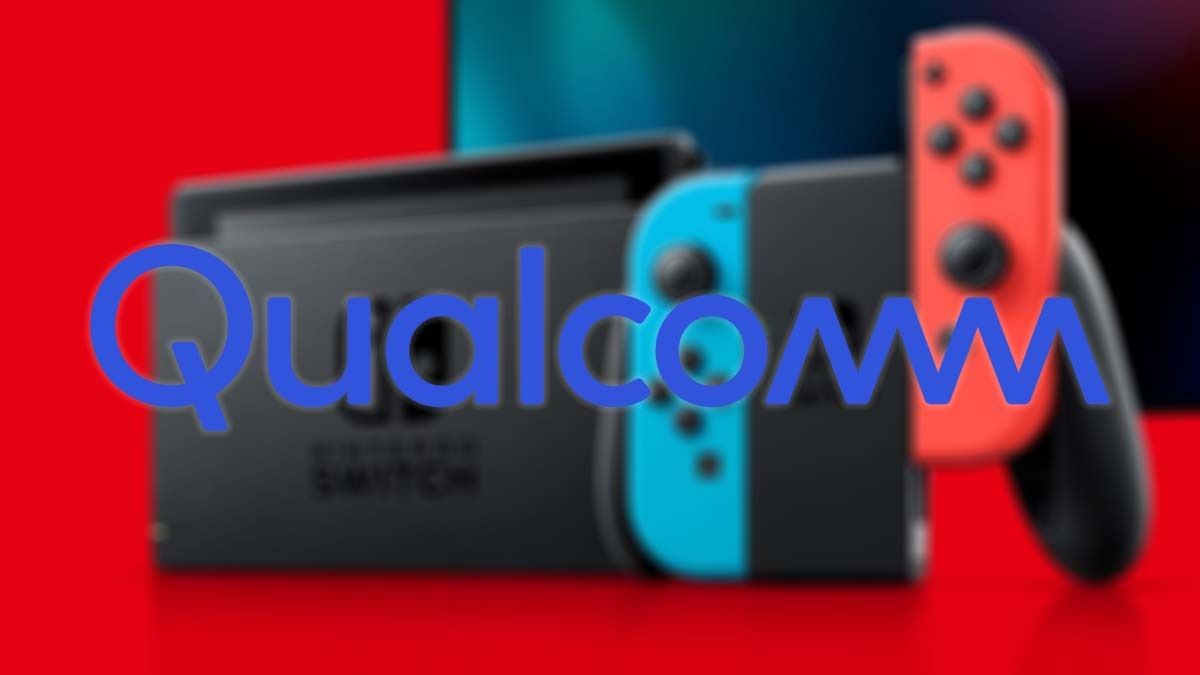 Android-based Qualcomm gaming console with Nintendo Switch design