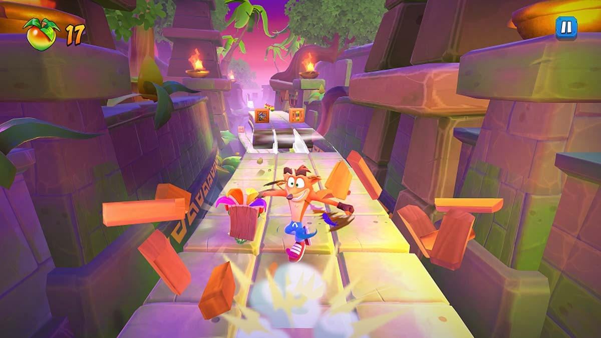 Crash Bandicoot On the Run launched, available on Android and iOS