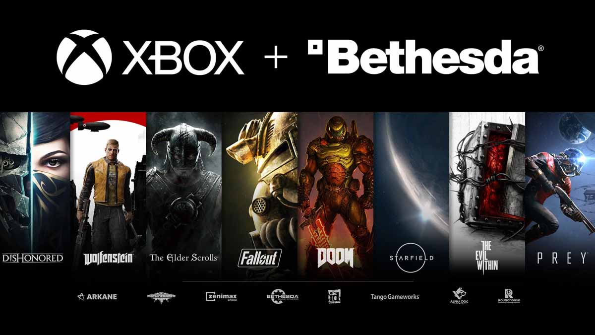 Microsoft ZeniMax Media deal approved, 20 Bethesda games coming to Xbox Game Pass