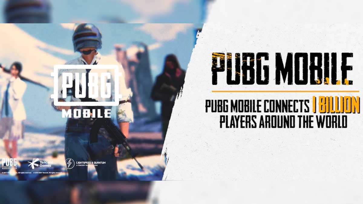 PUBG Mobile 1 billion downloads