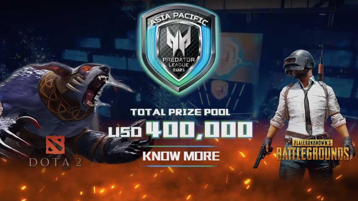 Acer Asia-Pacific Predator League 2020-21 grand finals for PUBG and DOTA 2