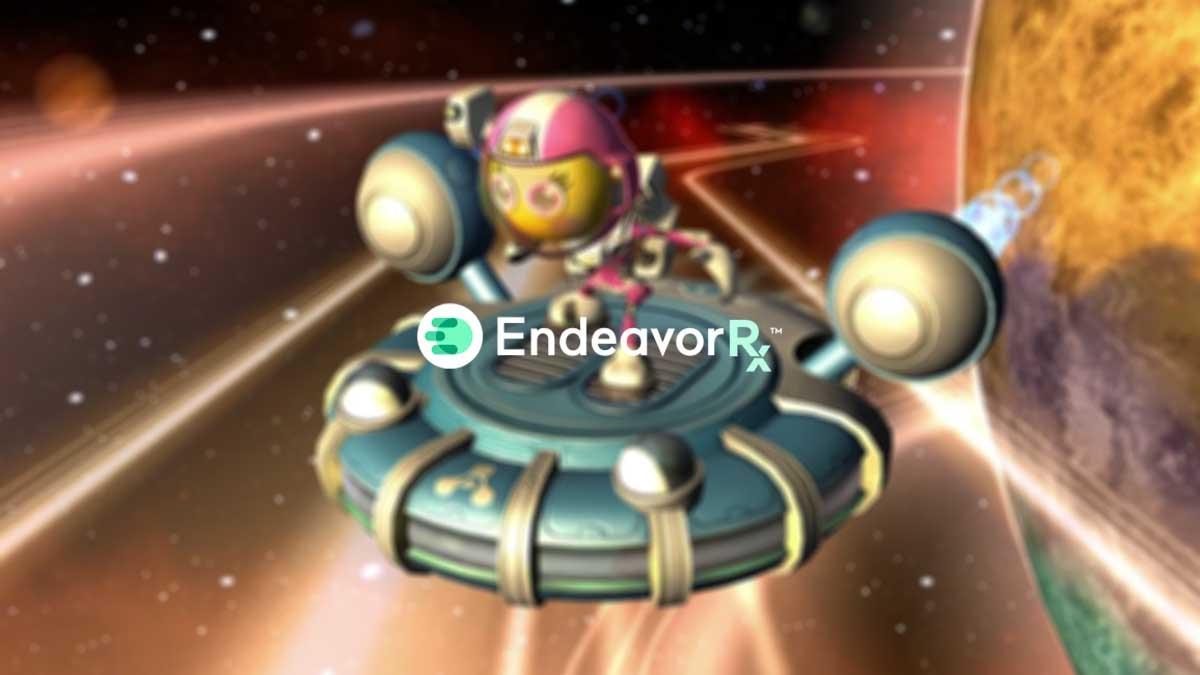 COVID-19 Coronavirus prescription video game EndeavorRX