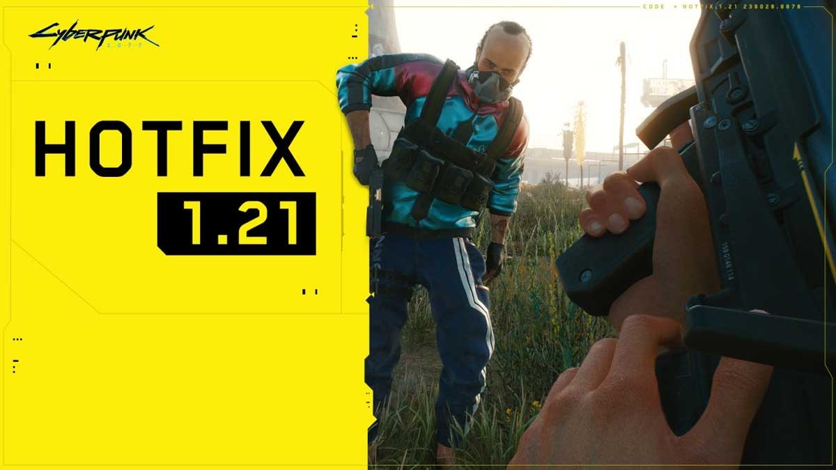 Cyberpunk 2077 v1.21 hotfix out, changelog, dataminer finds references to unannounced DLC chapter 1