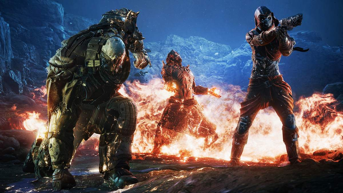 Outriders launch Square Enix