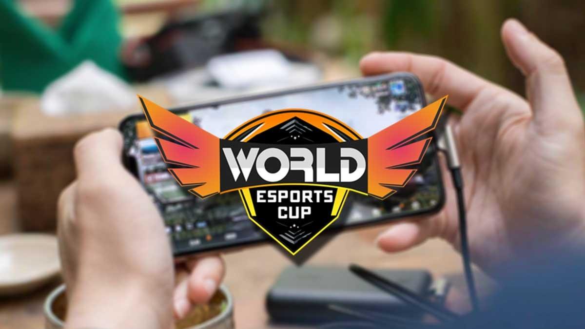 World eSports Cup 2021 India vs Pakistan PUBG Mobile Tournament