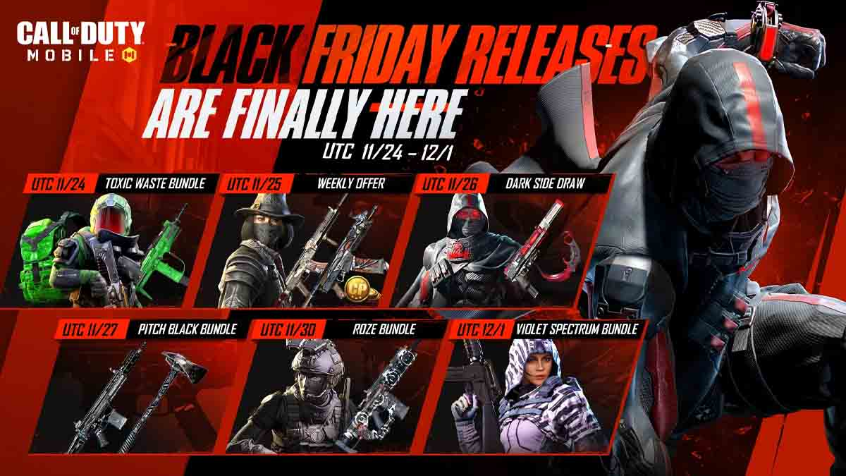 Call of Duty Mobile Black Friday deals