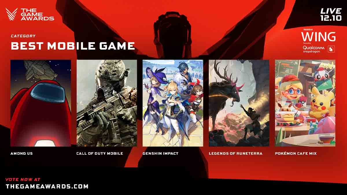 The Game Awards 2020 Best mobile game