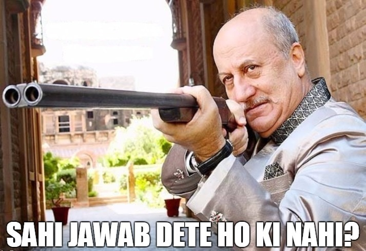 Quiz on Anupam Kher