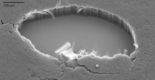 Vantablack scientific image