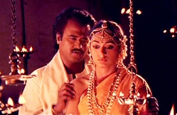with rajinikanth soundarya