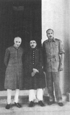 ऑपरेशन पोलो के बाद नेहरू, निज़ाम और जे एन चौधरी