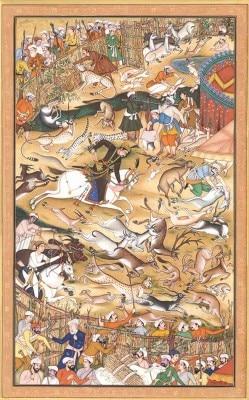 akbar_hunting_folio_from_the_akbarnama_me36