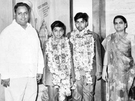 dhirubhai family