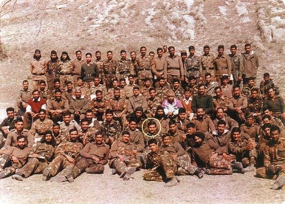 vijayant with comrades