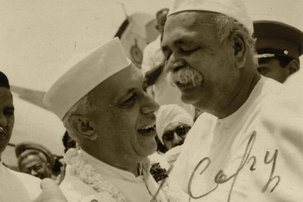 जवाहरलाल नेहरू के साथ गोविंद वल्लभ पंत.
