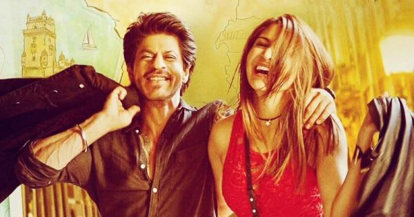 फिल्म जब हैरी मेट सेजल में शाहरुख और अनुष्का शर्मा.
