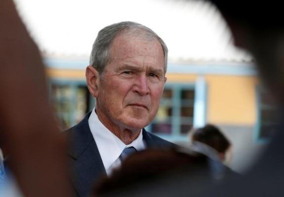 जॉर्ज बुश (फोटोःReuters)