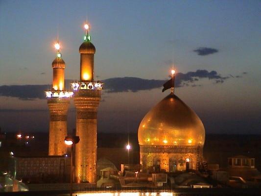 कर्बला शहर में इमाम हुसैन का रौज़ा, जहां उनकी कब्र है.