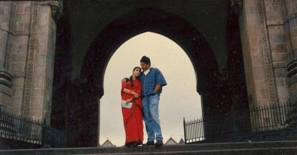 फिल्म बॉम्बे में अरविंद स्वामी और मनीषा कोइराला.