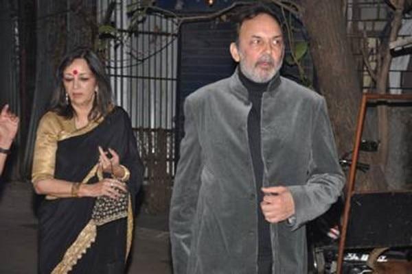 पति प्रणॉय के साथ राधिका रॉय