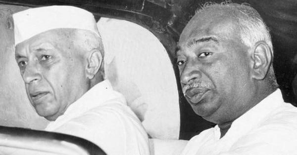 जवाहरलाल नेहरू के साथ के. कामराज
