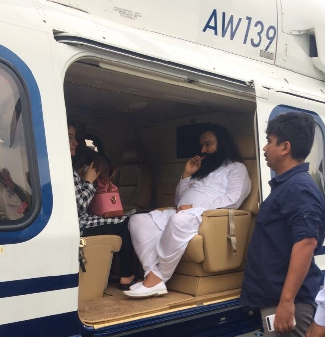 honeypreet helicopter