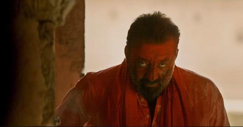 एक दृश्य में संजय दत्त.