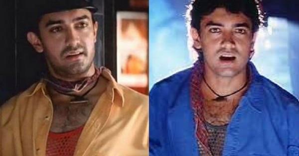 'रंगीला' में मुन्ना के किरदार में आमिर खान.