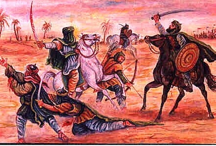 सिर्फ खूंरेजी की दास्तानें सुनाई जाती हैं इस्लाम से पहले. (प्रतीकात्मक इमेज, सोर्स: हिस्ट्री ऑफ़ जेहाद.कॉम)