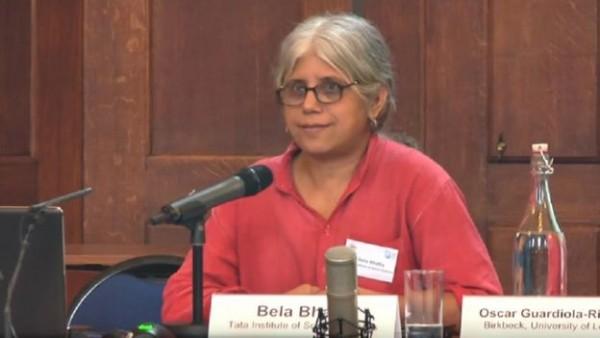 सामाजिक कार्यकर्ता बेला भाटिया ज्यां द्रेज की पत्नी हैं
