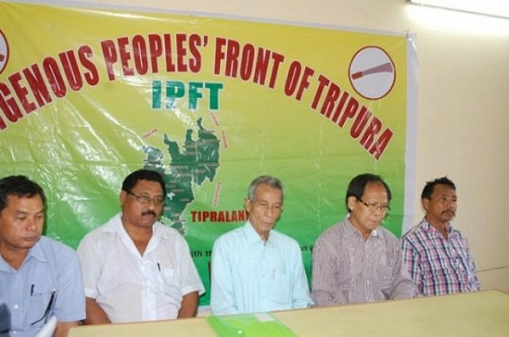 IPFT के नेता एनसी देबबर्मा ने आंदोलन को आगे बढ़ाया है.