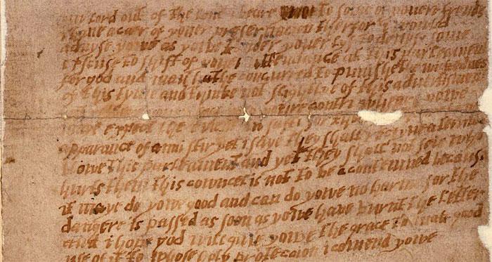 ये ही वो गुमनाम चिट्ठी है, जिसके कारण इस साजिश का भांडा फूट गया था (तस्वीर: विकीपीडिया)