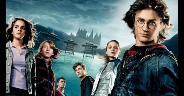 फिल्म 'हैरी पॉटर गॉबलेट ऑफ फायर' का एक सीन.