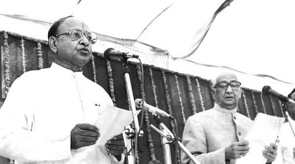 मुख्यमंत्री पद की शपथ लेटे शंकर सिंह वाघेला