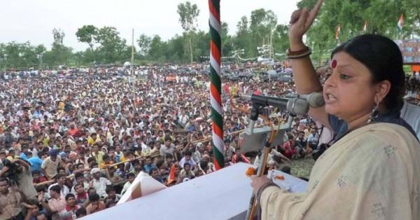 अपनी एक रैली में दीपा दासमुंशी