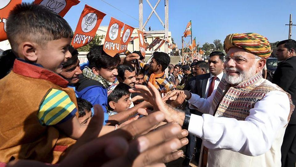 पीएम मोदी ने 27 नवंबर को भुज में रैली की थी.