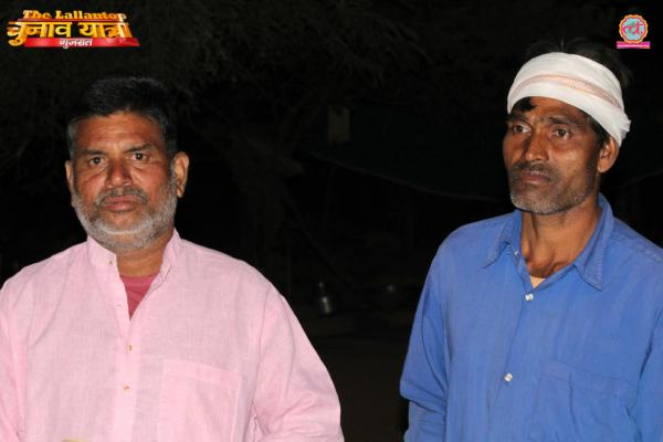 रायसिंह भाई (बाएं) अपनी 'यूनिफॉर्म'