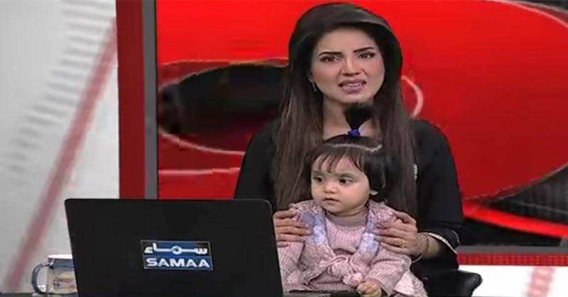 पाकिस्तान में 7 साल की बच्ची के रेप के बाद न्यूज़ एंकर अपनी बेटी के साथ TV पर आई